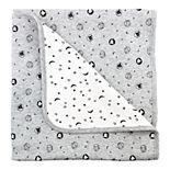 Baby Mac & Moon 2-Ply Sheep Print Reversible Receiving Blanket