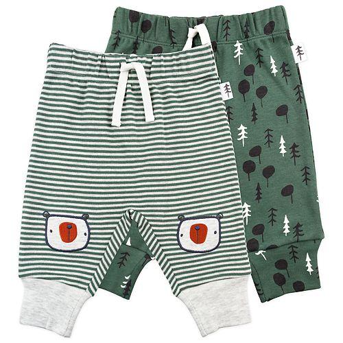 Baby Boy Mac & Moon 2-Pack Stripe & Print Pants