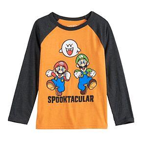 "Boys 4-12 Jumping Beans® Mario Bros. ""Spooktacular"" Graphic Tee"
