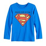 Boys 4-12 Jumping Beans® Superman Ready for Action Long-Sleeve Tee