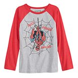 """Boys 4-12 Jumping Beans® Spider-Man """"Just Hanging Around"""" Graphic Tee"""
