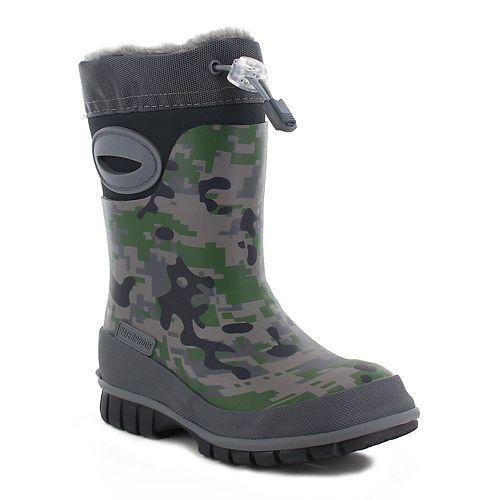 Western Chief Urban Camo Boys' Waterproof Winter Boots