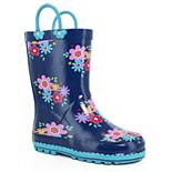 Western Chief Bloom Girls' Waterproof Rain Boots