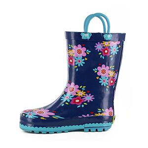 Western Chief Bloom Girls' Waterproof Rain Boots