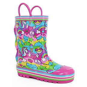 Western Chief 2 Cool Girls' Waterproof Rain Boots