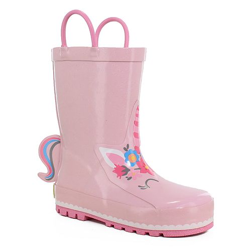 Western Chief Unity Unicorn Girls' Waterproof Rain Boots