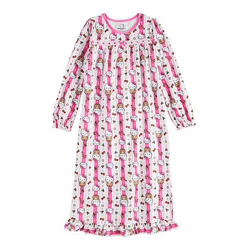 Girl's 4-10 Hello Kitty Granny Nightgown