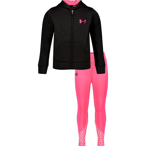Toddler Girl Under Armour Hoodie & Leggings Set