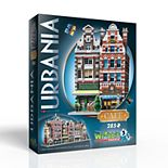 Wrebbit Urbania Collection Cafe 385-piece 3D Puzzle