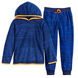 Boys 4-12 Jumping Beans® Active Microfleece Hoodie & Jogger Pants Set