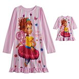 Disney's Fancy Nancy Girl's 4-8 Dorm Nightgown & Doll Nightgown