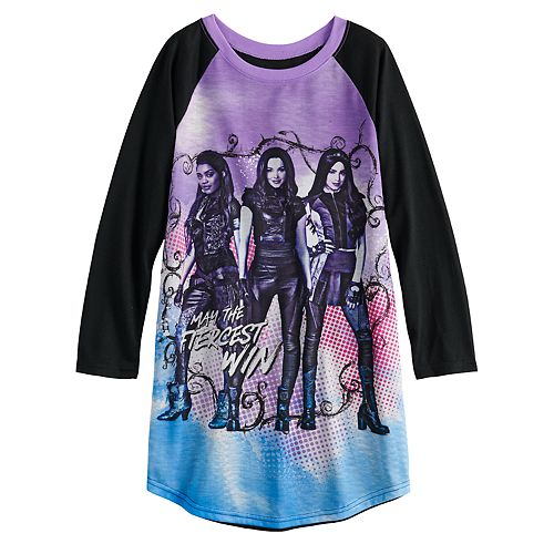 Disney's Descendants Girls 6-14 Dorm Nightgown