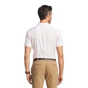 Men's IZOD Sportswear Performance Short Sleeve Button-Down Shirt