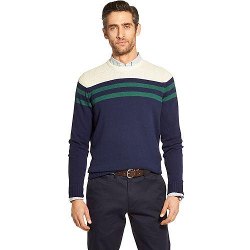 Men's IZOD Striped Crewneck Sweater