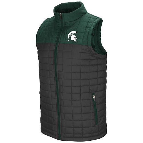 Men's Michigan State Spartans Amplitude Puff Vest