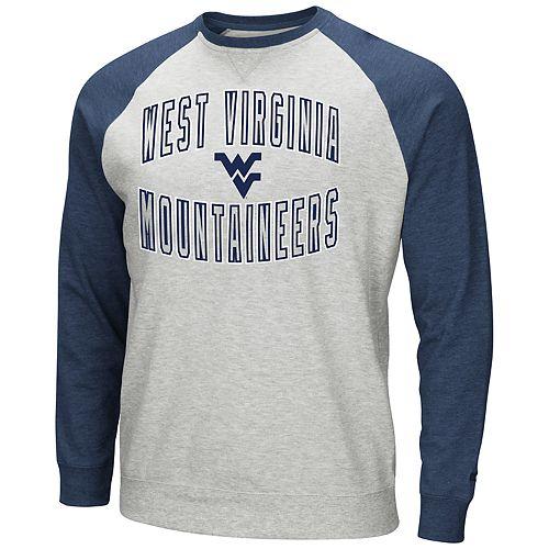 Men's West Virginia Mountaineers Raglan Sleeve Fleece