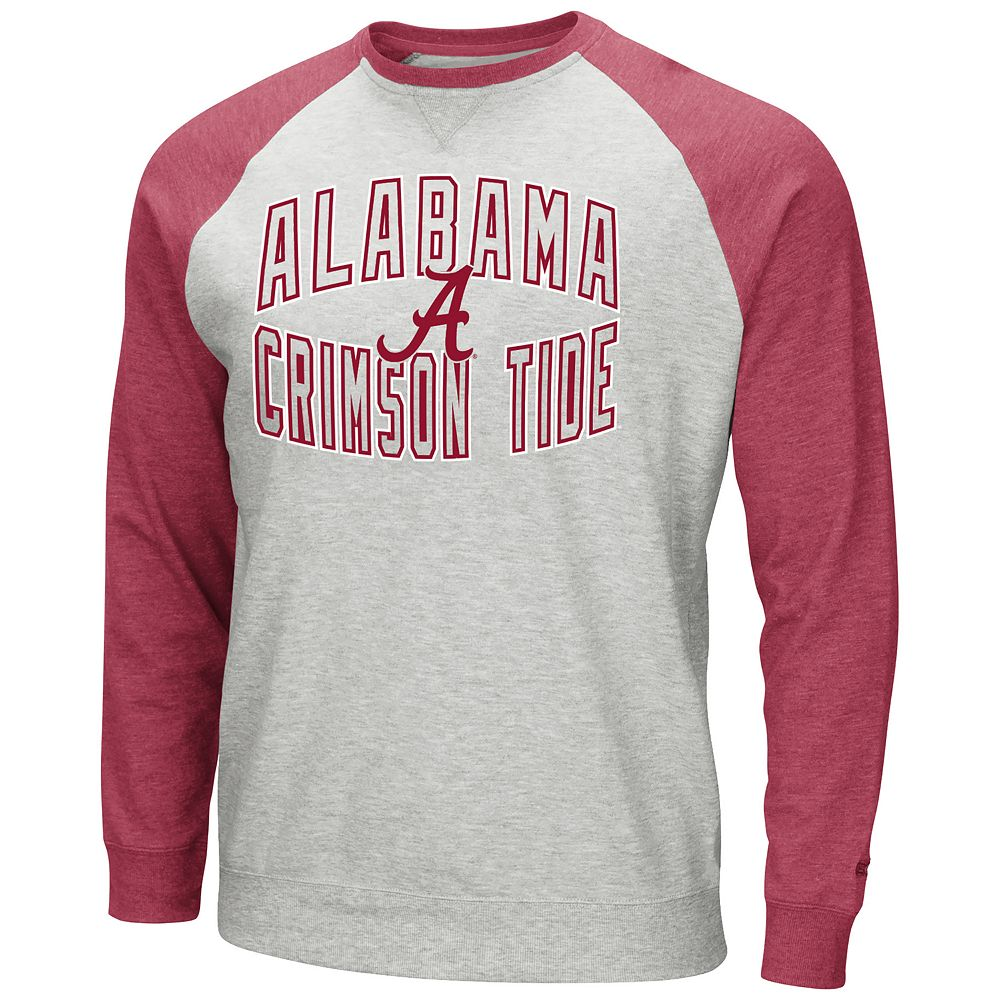 Men's Alabama Crimson Tide Raglan Sleeve Fleece