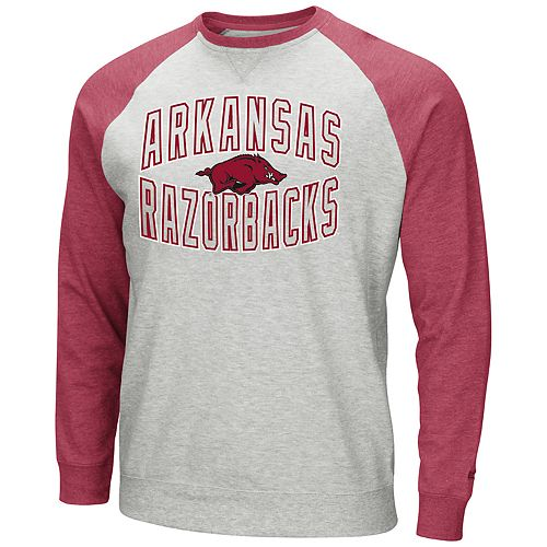 Men's Arkansas Razorbacks Raglan Sleeve Fleece