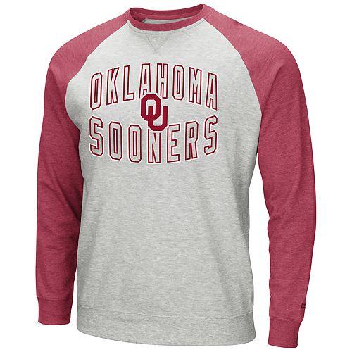 Men's Oklahoma Sooners Raglan Sleeve Fleece
