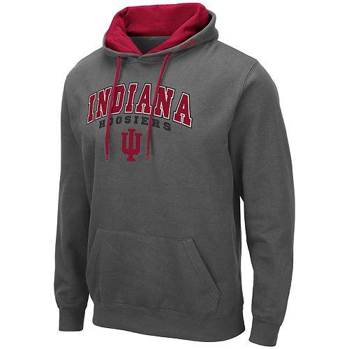 Big & Tall Men's Indiana Hoosiers Pullover Fleece Hoodie