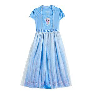 Disney's Frozen 2 Elsa Girls 4-8 Fantasy Gown Nightgown