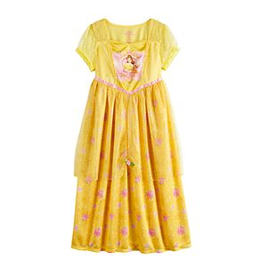 Disney's Princess Belle Girls 4-8 Fantasy Nightgown