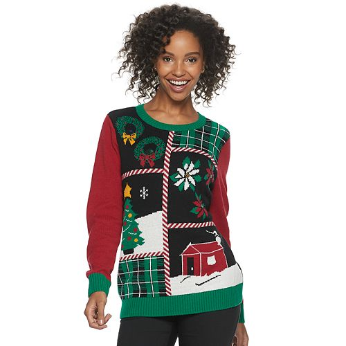 Women's Crewneck Ugly Christmas Sweater