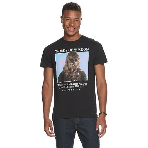 Men's Star Wars Chewbacca Tee