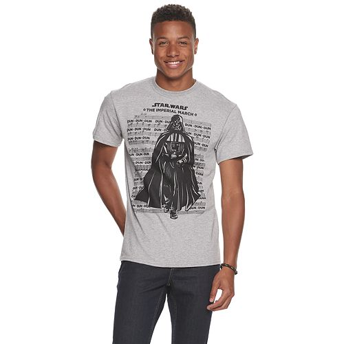 Men's Star Wars Imperial March Tee
