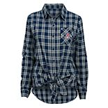 Juniors' Arizona Wildcats Tie-Front Button-Down Shirt