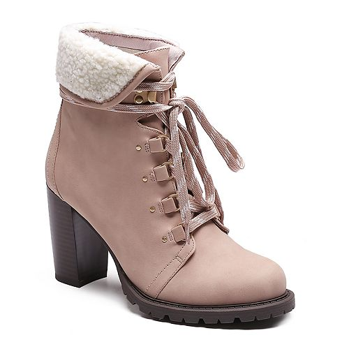 Dolce by Mojo Moxy Cody Women's Heeled Hiker Boots