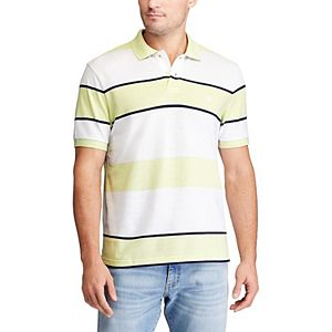Big & Tall Chaps Everyday Striped Polo