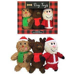 Woof 3-pc. Dog Toys