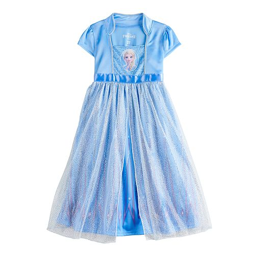 Disney's Frozen 2 Elsa Toddler Girl Fantasy Nightgown
