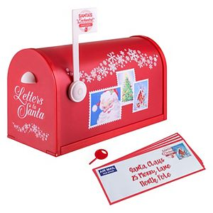 Mr. Christmas Indoor Santa's Enchanted Mailbox