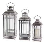 Melrose Lantern Table Decor 3-piece Set