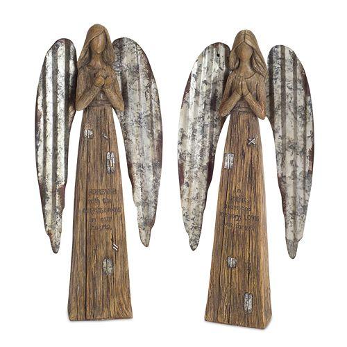 Melrose Angel Figurines (Set of 2)
