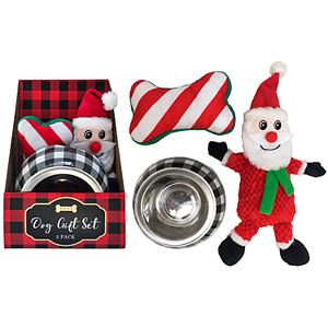 Woof 3-pc. Dog Gift Set