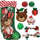 Woof Dog Toys Stuffed Stocking