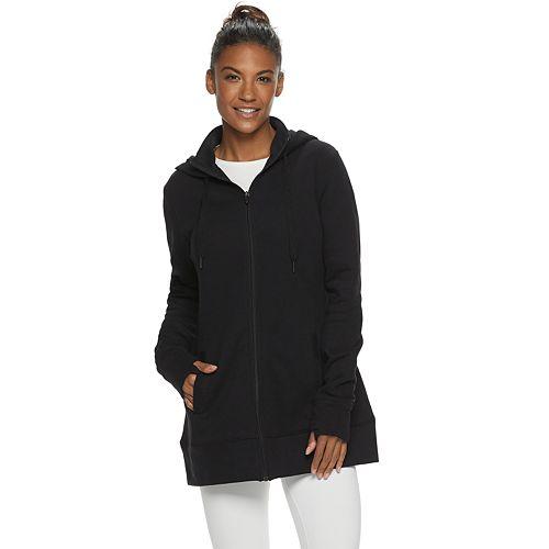 Women's Tek Gear® Mock Neck Hooded Sweatshirt