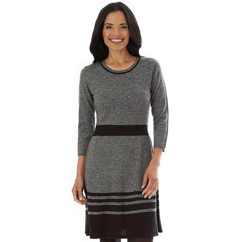 Women's Apt. 9® Fit & Flare Sweater
