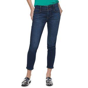 Women's Apt. 9® Tummy Control Ankle Jeans