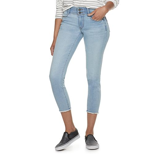 Women's Apt. 9® Tummy Control Ankle Jeans