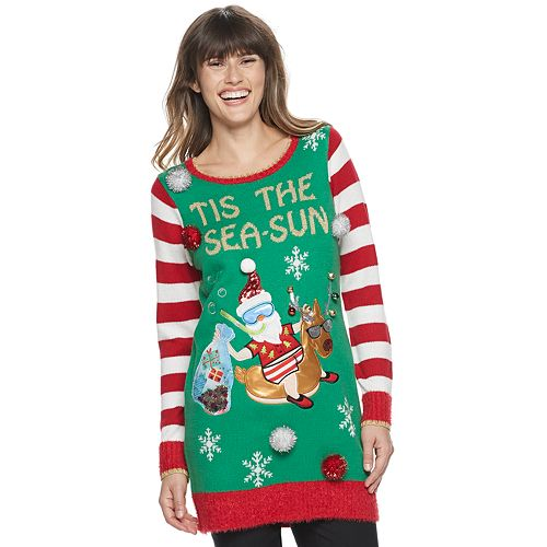 Women's US Sweaters Christmas Pullover Tunic