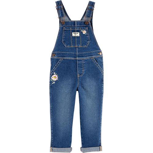 Toddler Girl OshKosh B'gosh® Heart Pocket Overalls