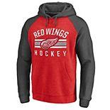 Men's Detroit Red Wings Fleece Pullover Hoodie
