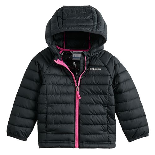 Toddler Girl Columbia Powder Lite Hooded Jacket