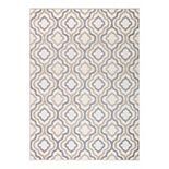 Concord Global Charlotte Collection Crystal Decorative Area Rug