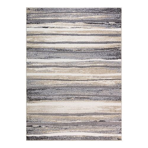 Concord Global Charlotte Collection Retro Rug