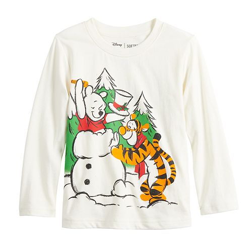 Disney's Winnie The Pooh & Tigger Toddler Boy Winter Graphic Tee by Jumping Beans®